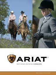 ARIAT® AppARel And FooTweAR Spring 2010 - Just Country ...