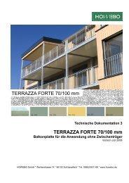 HOWEBO TD3 Terrazza Forte 70_100 Juli 2008 - howebo.de