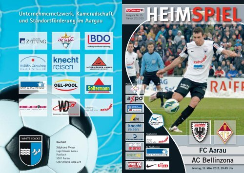 Saison 2012/2013 - Ausgabe 15: FC Aarau - AC Bellinzona