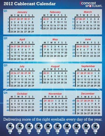 Broadcast Calendar 2012-Conv.cdr - Comcast Spotlight