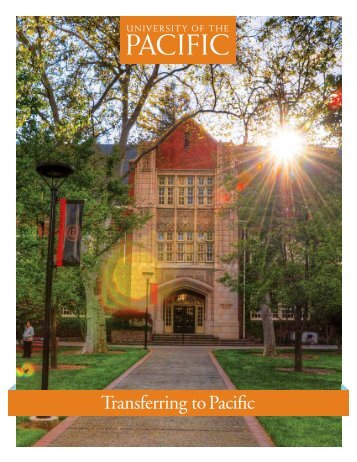 Transferring Student Information - University of the Pacific