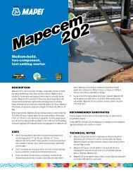 Mapecem 202 Mapecem 202 - AltaPaints and Coatings