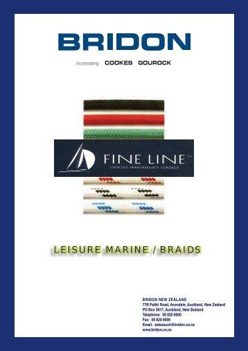 LEISURE MARINE / BRAIDS - Bridon