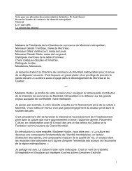 Notes pour une allocution du premier ministre du Québec, M