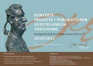 seit 2006 Mitglied im Deutschen Musikrat - Musikgesellschaft Carl ...