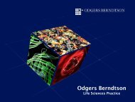 Odgers Berndtson - BIO Deutschland