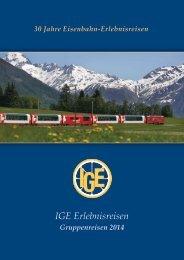 Katalog als PDF zum downloaden hier - IGE