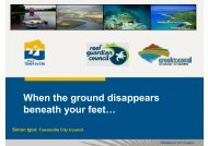 When the ground disappears beneath your feet… - GEMS Event ...