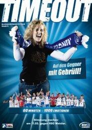 Stimmung machen: am 11.05. gegen HSG Wetzlar. - HSV Handball