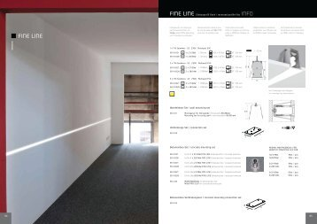 Fine Line - Technical Sheet - Light Project