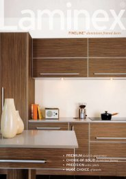 FINELINE™ aluminium framed doors • CHOICE OF SOLID ...
