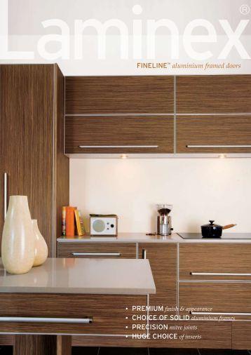 FINELINE™ aluminium framed doors • CHOICE OF SOLID ...