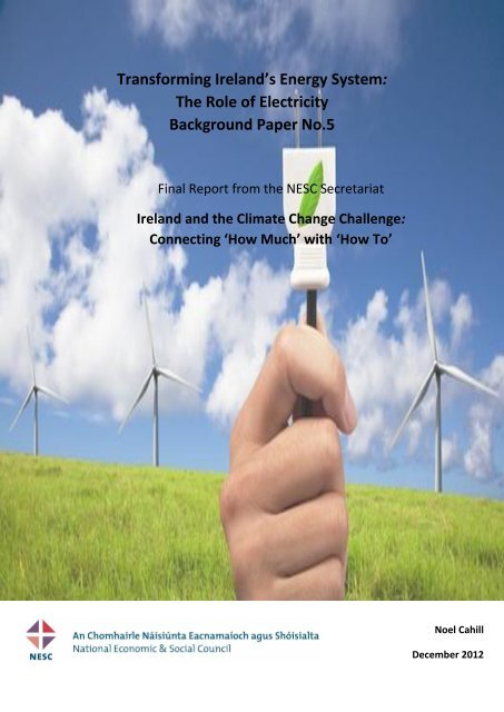 Transforming Ireland's Energy System: The Role of Electricity ...
