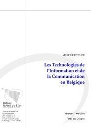 Les Technologies de l'Information et de la Communication en ...