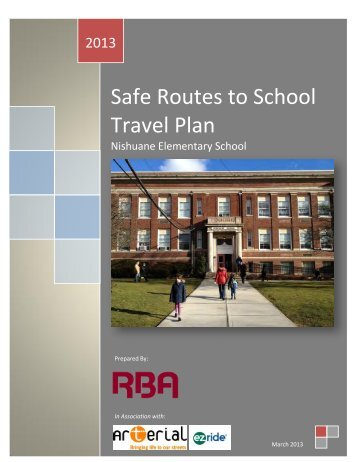 Nishuane Elementary School - NJ Safe Routes to School
