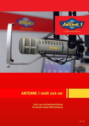 Senderfacts ma 2012 Radio I.cdr