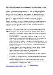Download Presseaussendung - Forum Study Nurses & Coordinators