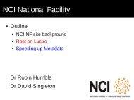 NCI National Facility