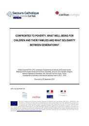 confronted to poverty, what well-being for children and their families ...