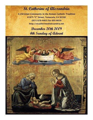 St. Catherine of Alexandria Temecula