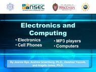 Electronics and Computing - Institute for Chemical Education ...