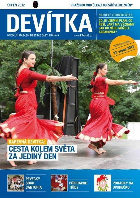 Srpen 2012 - Praha 9