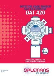 Détecteur DAT 420 - Dalemans Gas Detection