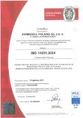 pobierz certyfikat ISO 14001 - Armacell - Page 2