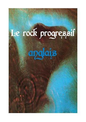 Le rock progressif anglais