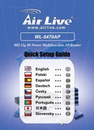 AirLive WL-5470AP Quick Setup Guide