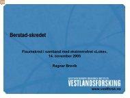 Presentasjon – Ragnar Brevik