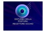Presentazione1DISTURBO DELLA POSTURA - ABCsalute.it