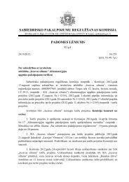 Sabiedrisko pakalpojumu regulēšanas komisijas ... - Iecavas novads