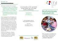 IFD-Flyer Niederbayern