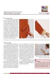 ProCrea pittura a grana fine - Naturalia Bau