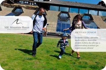 katalog aktivan odmor 2012 - mk mountain resort