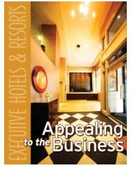 Building On Experience - Executive Hotels & Resorts