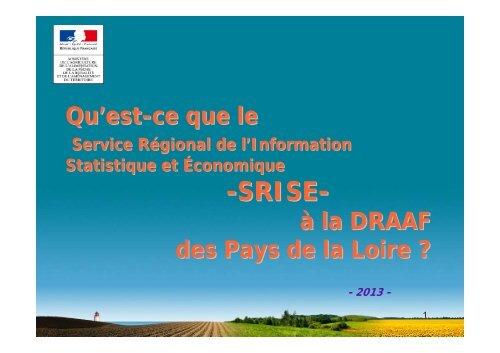 Diaporama de présentation - Direction régionale de l'alimentation ...
