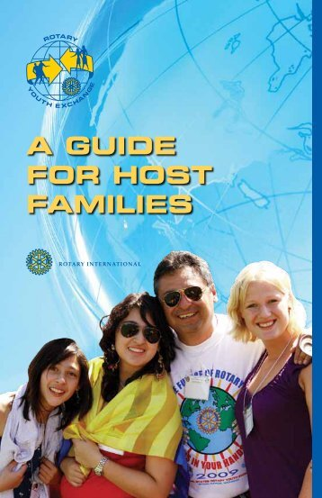 A Guide for Host Families (PDF) - Rotary International