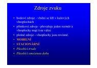 2 Zdroje zvuku - Izolace.cz