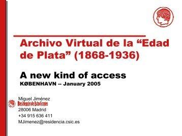 La integración y el acceso a los recursos digitales en la web de la ...