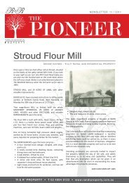Stroud Flour Mill - R & R Rural and Residential Property