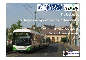 What is electromobility? - trolley-project.eu
