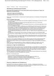 Seite 1 von 2 Druckansicht Akkreditierung und Zulassung ab 01.04 ...