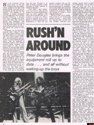 Rush'n Around - Cygnus-X1.Net