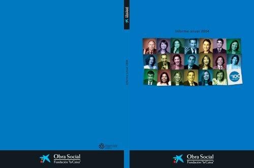 Informe anual 2004 - la Caixa