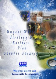 Business Plan - Umgeni Water