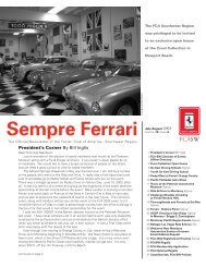 Volume 10 Issue 4 - July/August 2003 - Ferrari Club of America ...