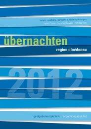 region ulm/donau übernachten - Alb-Donau-Kreis