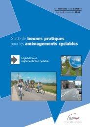 Législation et réglementation cyclable - Mobilité en Wallonie